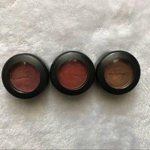 MAC Cosmetics 3 Eyeshadow Bundle